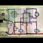 How to build a dark sensor circuit using NE555 timer