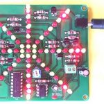 How to build light explosion LED effect DIY electronic kit using LEDs, NE555 and CD4017