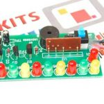 Happy Birthday LED Flashing DIY Kit using CD4060 and Music Chip