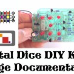 How to build Jaycar's electronic dice DIY Kit KJ8222