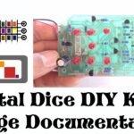 How to build Jaycar's electronic dice DIY Kit KJ8222